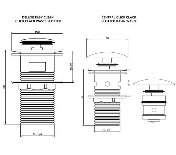 Technical drawing QS-V103288 / RAKCCW004
