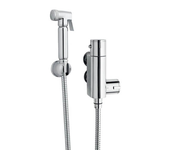 Nuie Douche Spray Kit With Thermostatic Bar Shower Valve