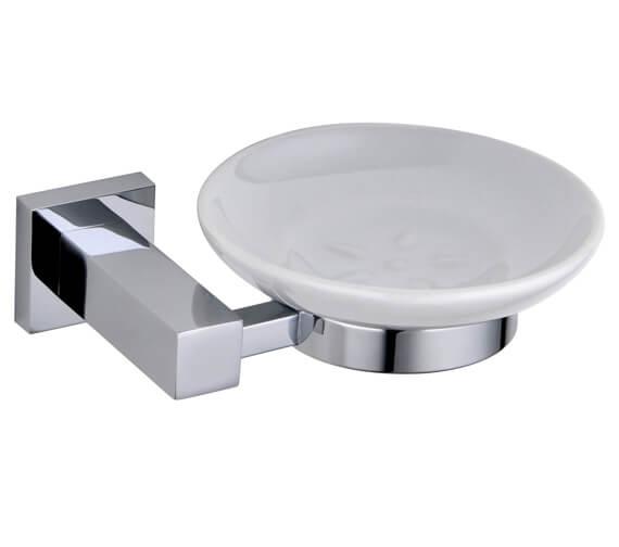 RAK Cubis Round Soap Dish Wall Mounted