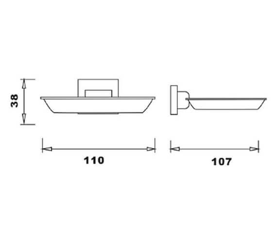 Technical drawing QS-V103303 / RAKCUB9905