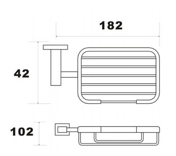 Technical drawing QS-V103304 / RAKCUB9906
