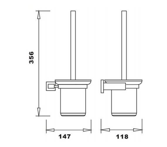 Technical drawing QS-V103306 / RAKCUB9908