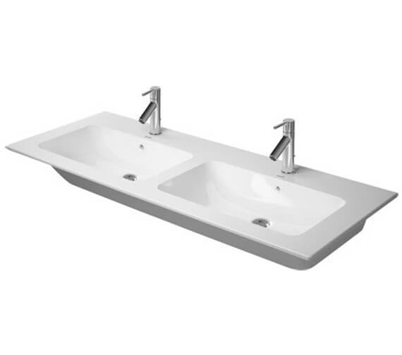 Duravit ME By Starck 1300mm Wide Double Furniture Washbasin