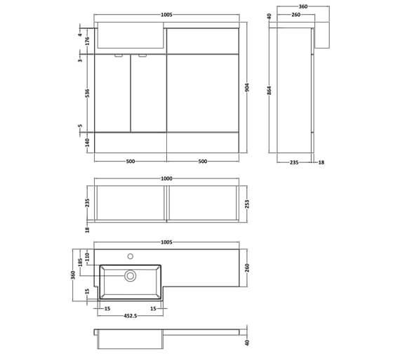 Technical drawing QS-V93922 / CBI144