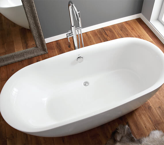 Additional image of April Cayton Contemporary Freestanding Oval Shaped Bath