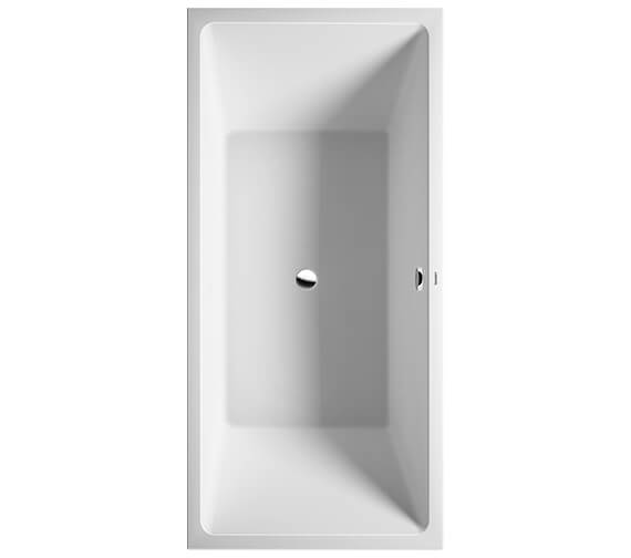 Duravit Vero Air Two Backrest Slopes Built-In Bath With Support Feet