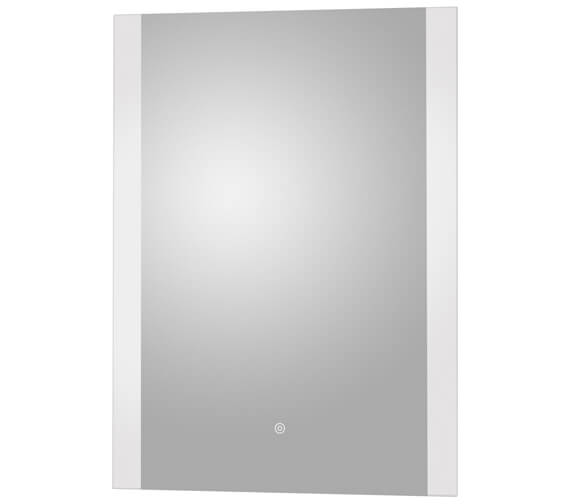 Hudson Reed 500 x 700mm Touch Sensor Ambient Light Illuminated LED Mirror