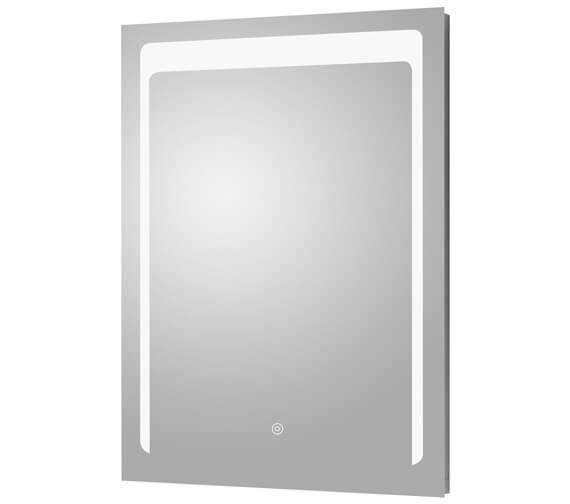 Hudson Reed 500 x 700mm Touch Sensor Illuminated LED Mirror
