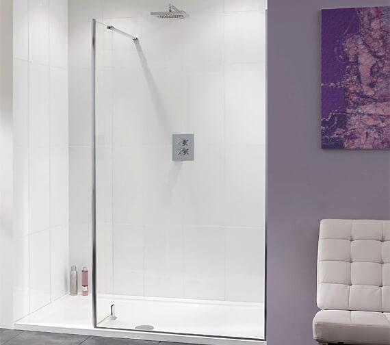 Lakes Coastline Nice Walk-In Shower Panel 800 x 2000mm