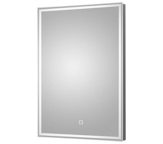 Hudson Reed 500 x 700mm LED Mirror Glass With Demister Pad