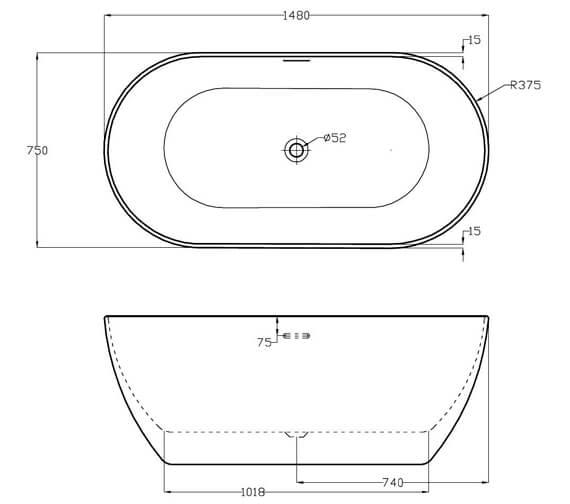 Technical drawing QS-V87373 / SI806052