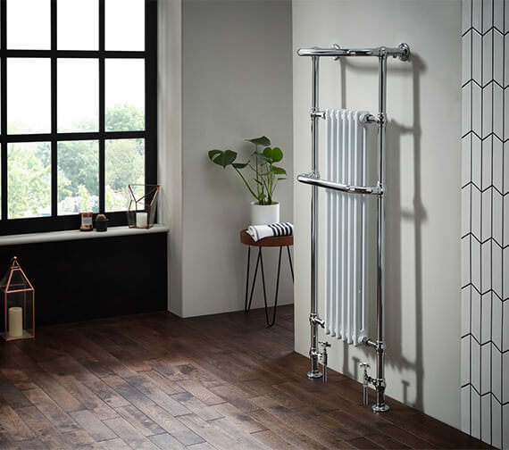 Holborn Howard Traditional 574 x 1500mm Heated Towel Rail