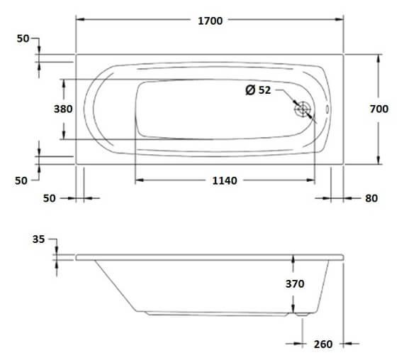 Technical drawing QS-V78140 / SNH12A20684