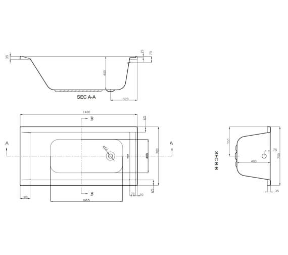 Technical drawing QS-V37591 / SI805742