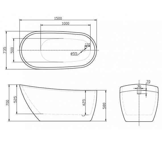 Technical drawing QS-V78123 / BEHY-416