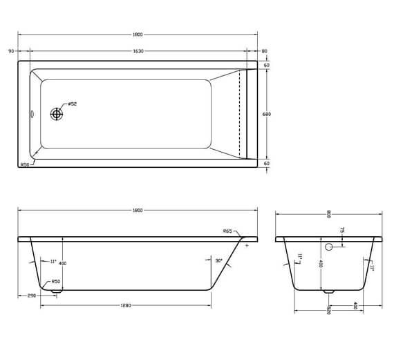Technical drawing QS-V93938 / SI805749