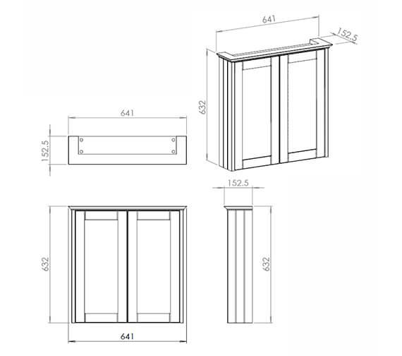 Technical drawing QS-V42591 / CV29425/414