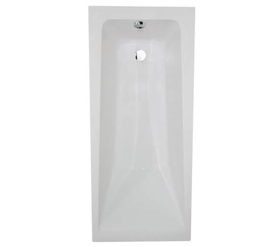 Aqua Atlanta Square Single Ended Straight Bath - Sizes And Variants Available