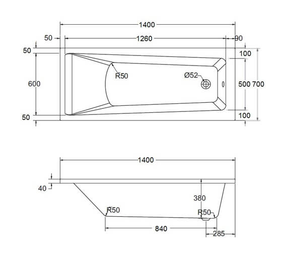 Technical drawing QS-V98159 / SI80522200042000