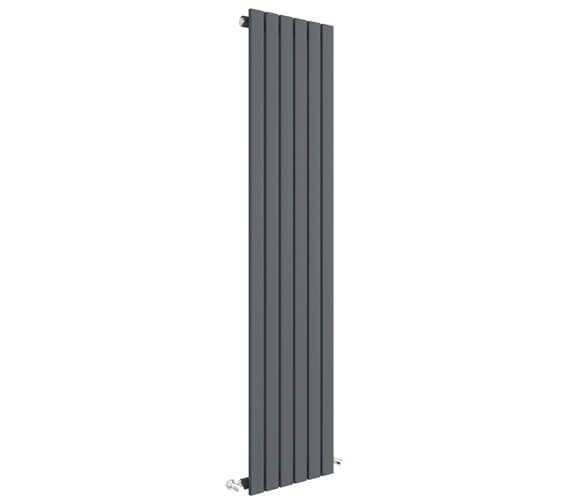 Additional image of Hudson Reed Sloane Single Panel Vertical Radiator