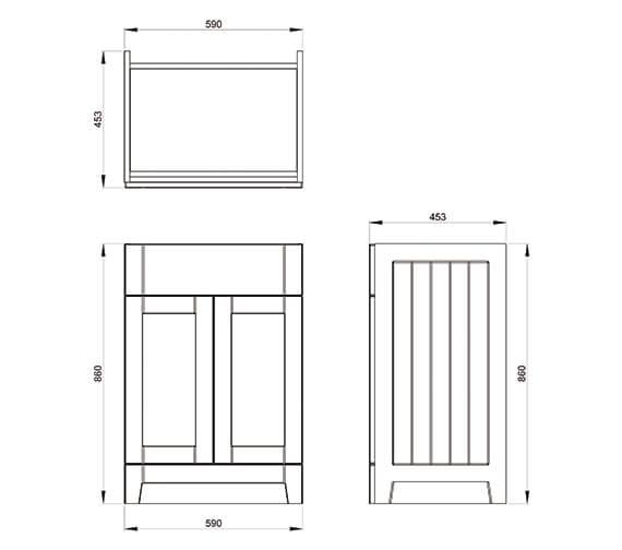 Technical drawing QS-V42592 / CV29465/414