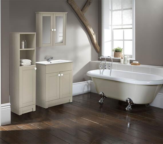 Holborn 600mm Double Door Bathroom Vanity Unit