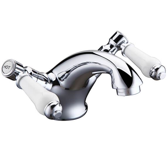 Holborn Lever Basin Mixer Tap With Sprung Waste