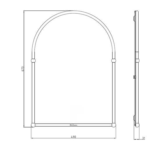 Technical drawing QS-V42594 / LMHAHC09