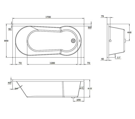 Technical drawing QS-V93939 / SI806062
