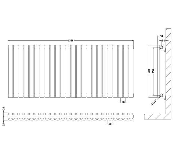 Technical drawing QS-V93932 / HL337D