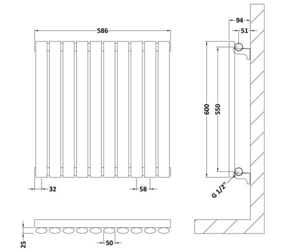 Technical drawing QS-V93931 / HL337