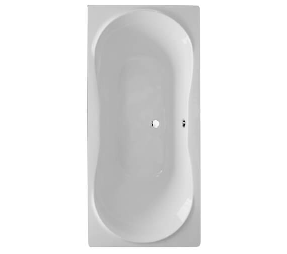 Aqua Comet 1800 x 800mm Round Double Ended Straight Bath