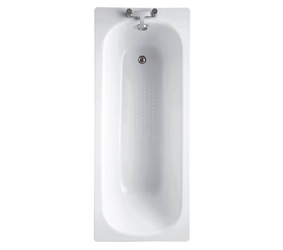 Aqua Steel 1700 x 700mm Single Ended Un-Gripped Bath