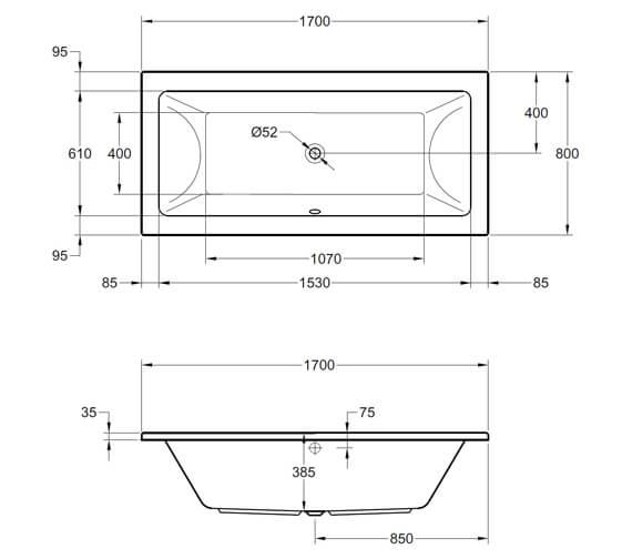 Technical drawing QS-V98162 / SI805664