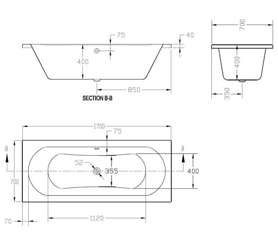 Technical drawing QS-V101364 / SI805745