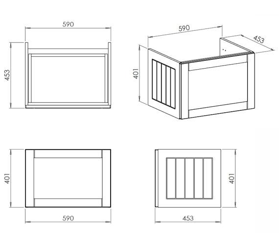 Technical drawing QS-V100802 / CV29463/414