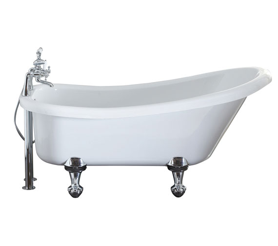 Holborn Camden Traditional 1500 x 750mm Freestanding Slipper Bath