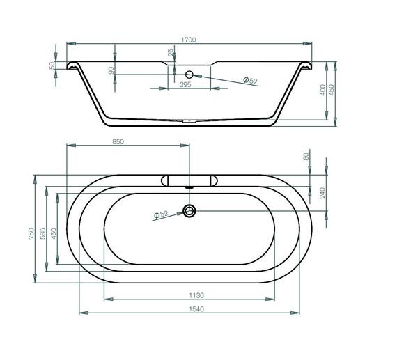 Technical drawing QS-V100801 / AP28A1711