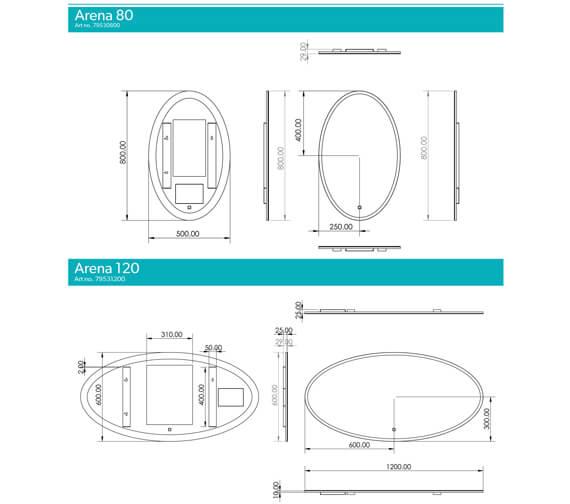 Technical drawing QS-V99579 / 79530800