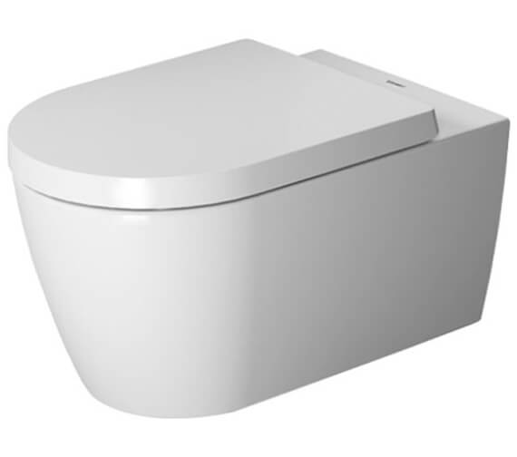 Duravit ME By Starck Rimless Wall Mounted Toilet
