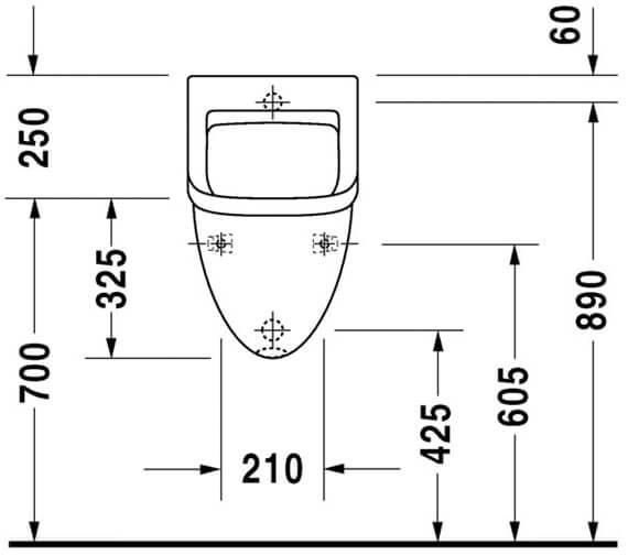 Technical drawing QS-V45522 / 0821350000