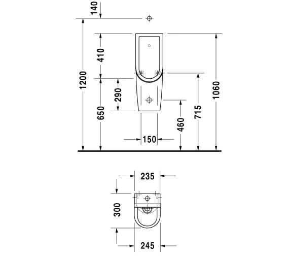 Technical drawing QS-V45524 / 0827250000
