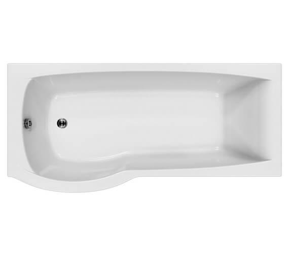 Carron Delta 5mm Shower Bath 1600 x 700-800mm