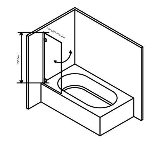 Technical drawing QS-V101391 / BE800613TR