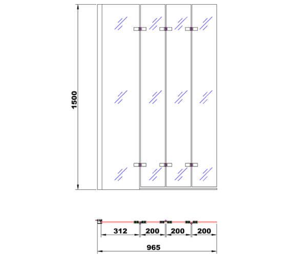 Technical drawing QS-V101392 / BE611629L