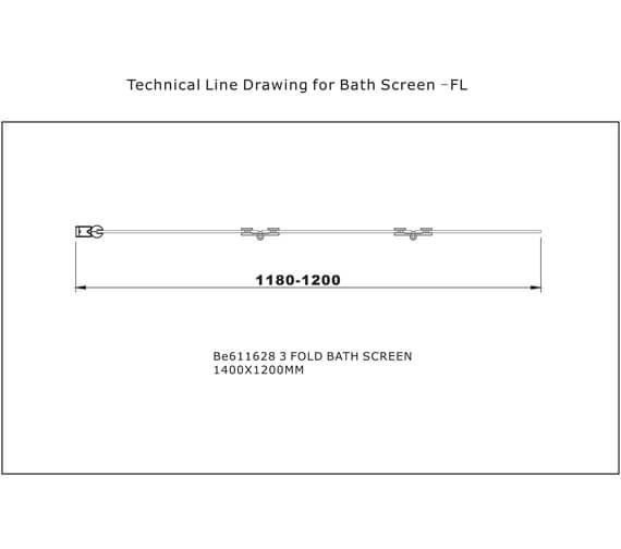 Technical drawing QS-V101393 / BE611628L