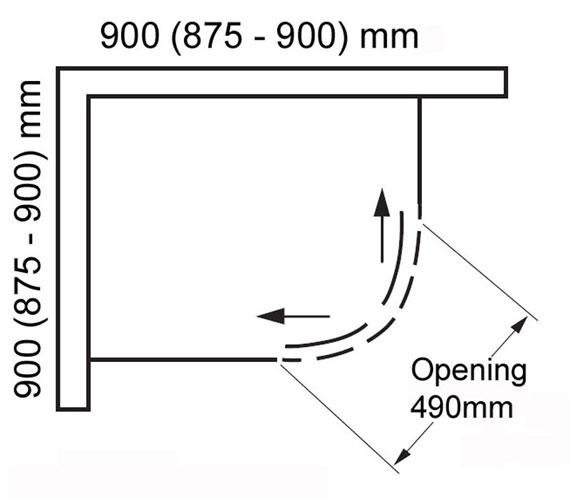 Technical drawing QS-V100817 / BENDY-9391B-8