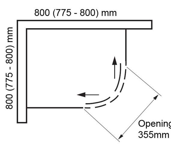 Technical drawing QS-V100815 / BEDYD9392B-8-F