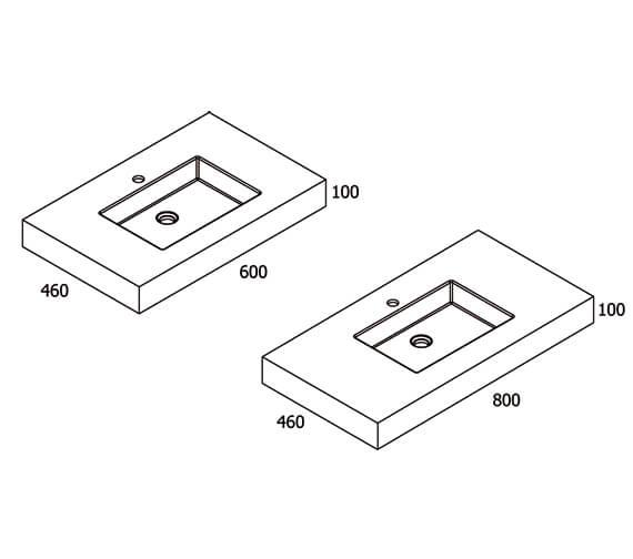 Technical drawing QS-V98168 / VI083020