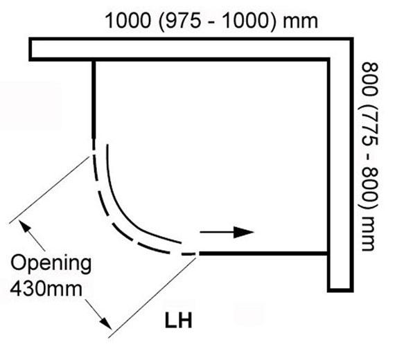 Technical drawing QS-V100819 / BED9651LB-M1C
